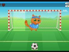 Котик Бубу 5 серия Играем в Футбол, Баскетбол бесплатные игры для детей.mp4